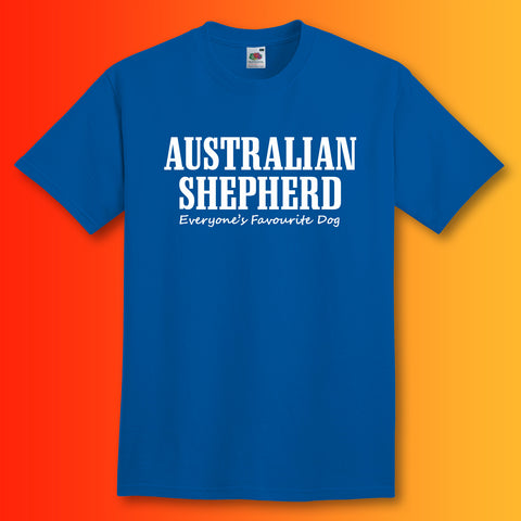 Australian Shepherd Everyone's Favourite Dog T-Shirt