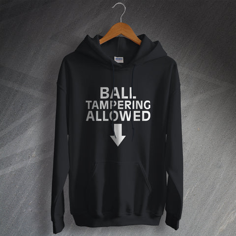 Cricket Hoodie Ball Tampering Allowed