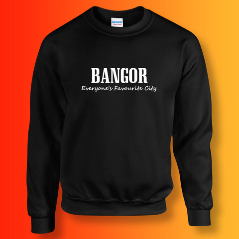 Bangor  Everyone's Favourite City Sweatshirt