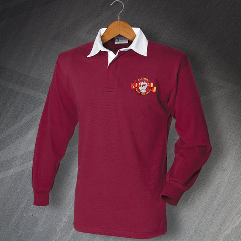 Bantams Keep The Faith Embroidered Long Sleeve Football Shirt