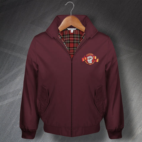 Bantams Keep The Faith Embroidered Classic Harrington Jacket