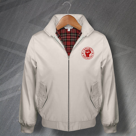 Bari Football Harrington Jacket Embroidered I Galletti Orgoglio della Puglia
