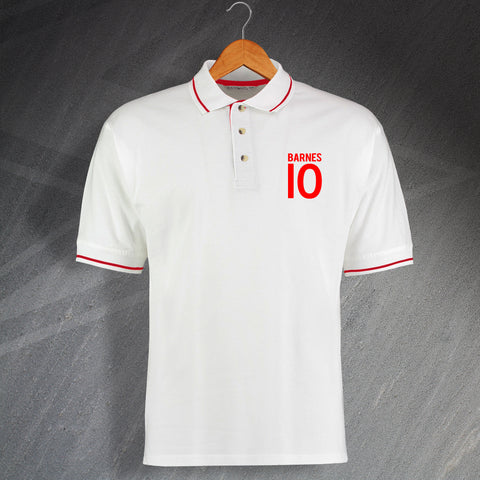 Barnes 10 Embroidered Contrast Polo Shirt