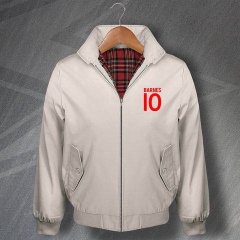 Barnes 10 Embroidered Classic Harrington Jacket