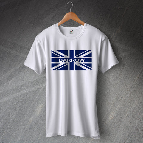 Barrow Football T-Shirt Union Jack
