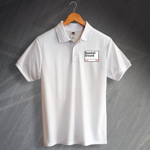 Derby Football Polo Shirt Embroidered Baseball Ground