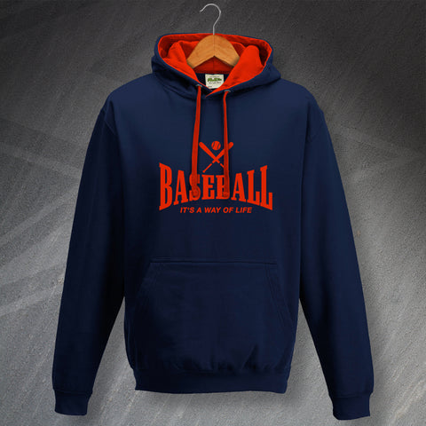 Baseball It's a Way of Life Hoodie