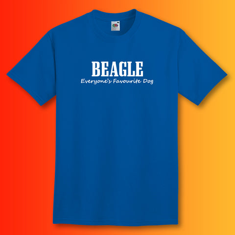 Beagle Everyone's Favourite Dog T-Shirt