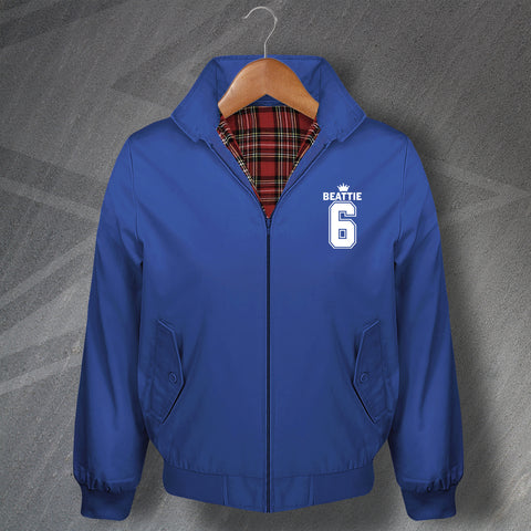 Beattie 6 Football Harrington Jacket Embroidered