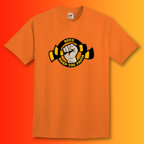 Bees Keep The Faith Shirt