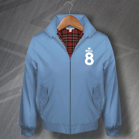 Bell 8 Football Harrington Jacket Embroidered