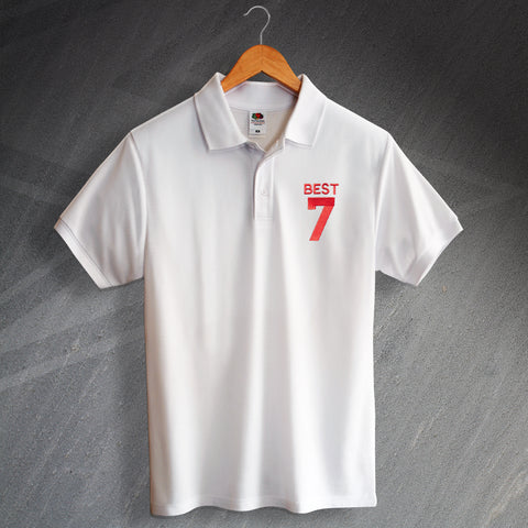 George Best Football Polo Shirt