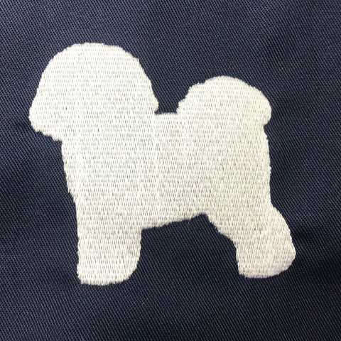 Bichon Frise Harrington Jacket