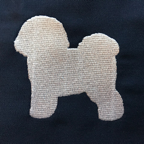 Bichon Frise Embroidered Badge