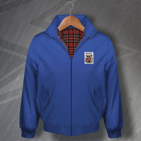 Retro Birmingham Classic Harrington Jacket with Embroidered 1899 Badge