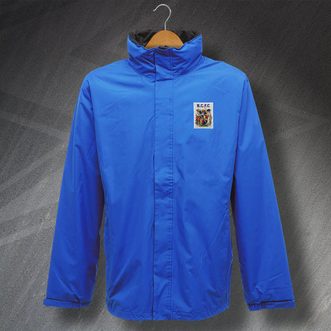 Retro Birmingham Waterproof Jacket with Embroidered 1899 Badge