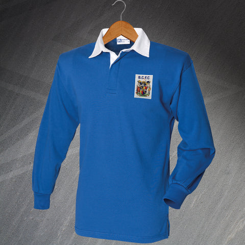 Birmingham Football Shirt Embroidered Long Sleeve 1899