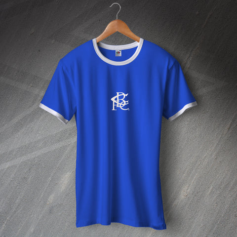 Retro Birmingham Ringer Shirt with Embroidered Badge