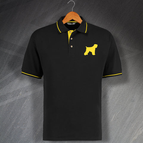 Black Russian Terrier Polo Shirt