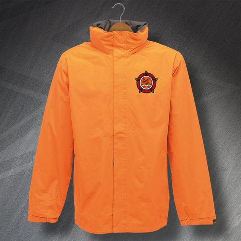 Blackpool Football Waterproof Jacket Embroidered 1987