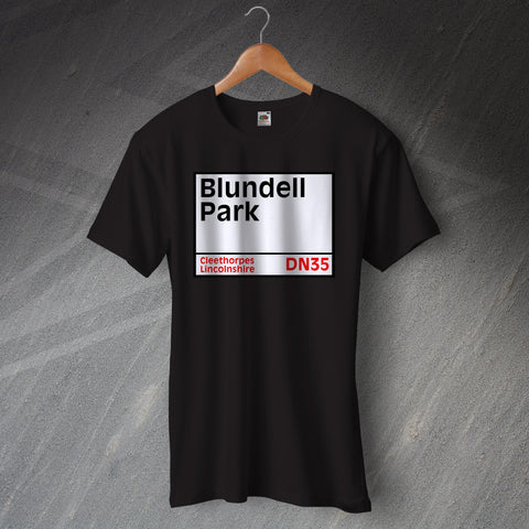 Grimsby Football T-Shirt Blundell Park