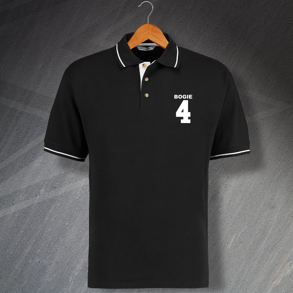 Ian Bogie Port Vale Football Polo Shirt