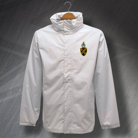 Retro Bolton Waterproof Jacket with Embroidered Badge