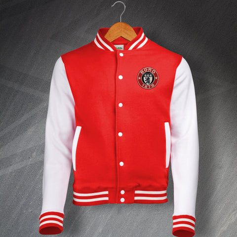 Middlesbrough Football Varsity Jacket Embroidered 1876