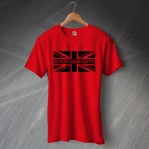 Bournemouth Football T-Shirt Union Jack