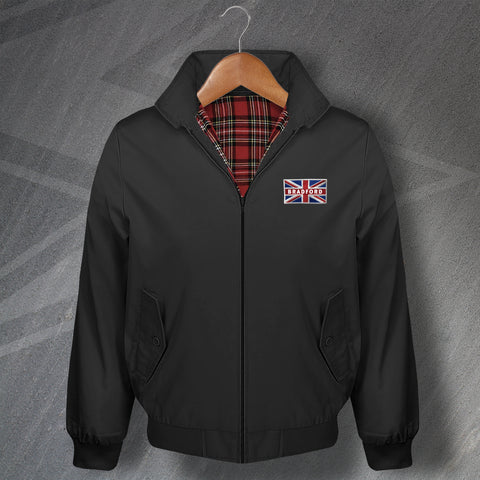 Bradford Union Jack Flag Harrington Jacket