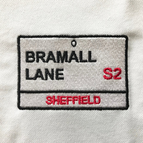 Bramall Lane Embroidered Badge