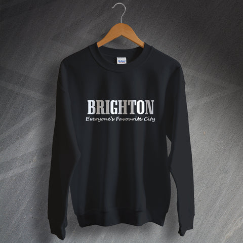 Brighton Sweatshirt Everyone's Favourite City