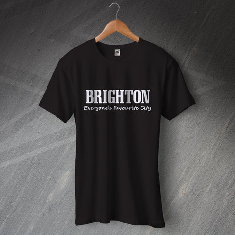 Brighton T-Shirt Everyone's Favourite City