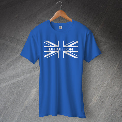 Brighton Football T-Shirt Union Jack