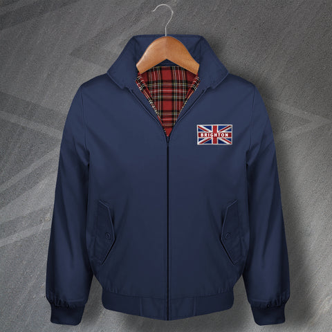 Brighton Union Jack Flag Harrington Jacket