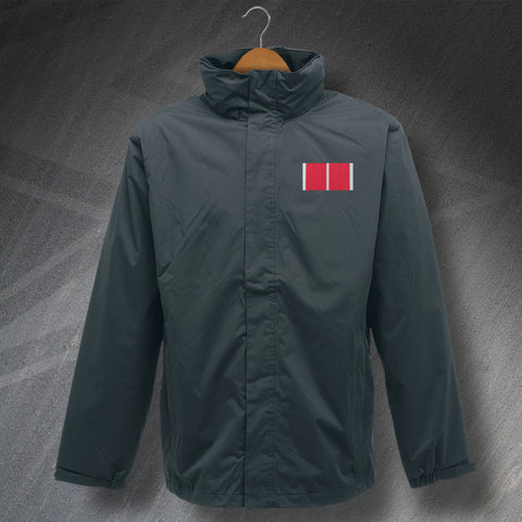 British Empire Medal Bar Embroidered Waterproof Jacket