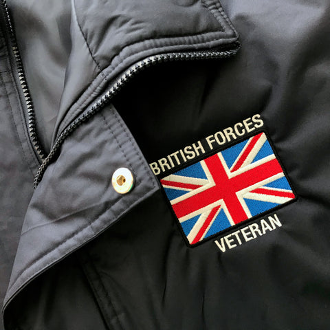 British Forces Veteran Embroidered Badge