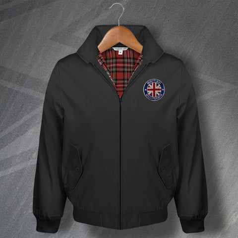 British Scooterists Classic Harrington Jacket with Embroidered Badge