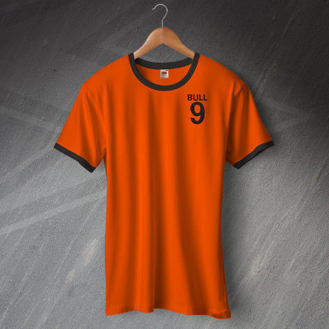 Wolves Football Shirt Embroidered Ringer Bull 9