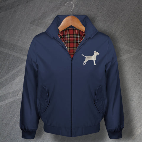 Bull Terrier Harrington Jacket Embroidered