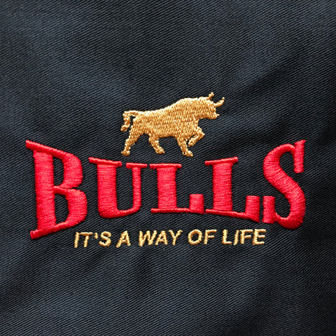 Bulls It's a Way of Life Embroidered Badge