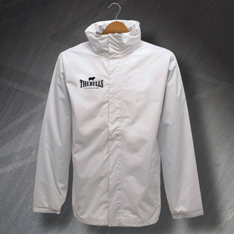 The Bulls It's a Way of Life Embroidered Waterproof Jacket