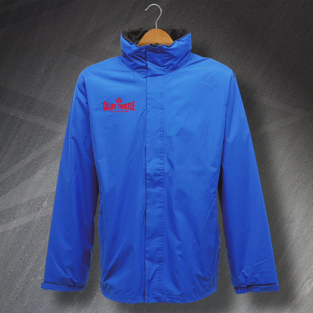 Caley Thistle It's a Way of Life Embroidered Waterproof Jacket