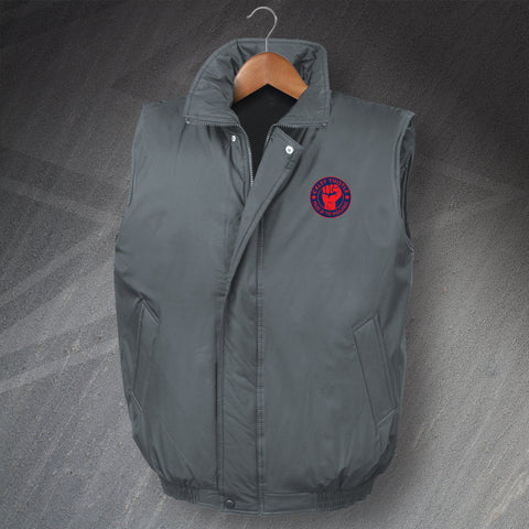 Caley Thistle Pride of The Highlanders Embroidered Padded Gilet