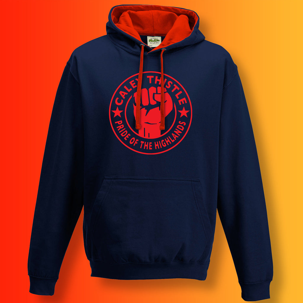 Caley Thistle Pride of The Highlands Contrast Hoodie