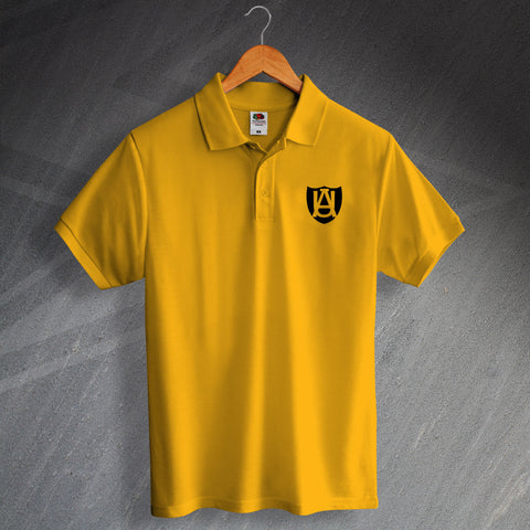 Retro Cambridge Polo Shirt with Abbey United 1947 Design