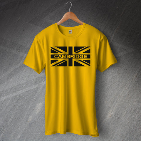 Cambridge Football T-Shirt Union Jack