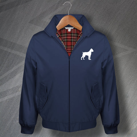 Cane Corso Harrington Jacket Embroidered