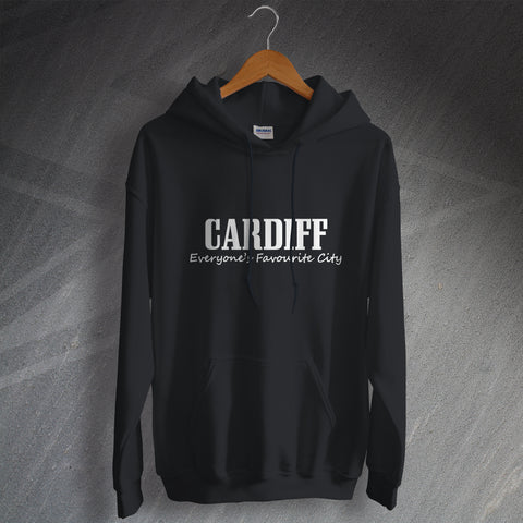 Cardiff Hoodie Everyone's Favourite City