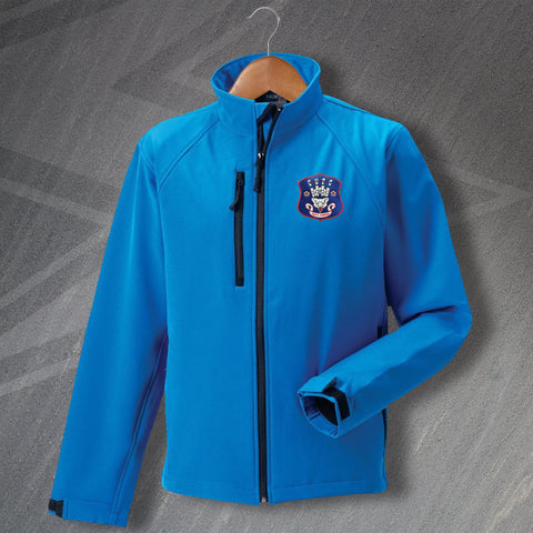 Carlisle Football Jacket Embroidered Softshell 1960s